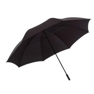 kæmpe paraply sort