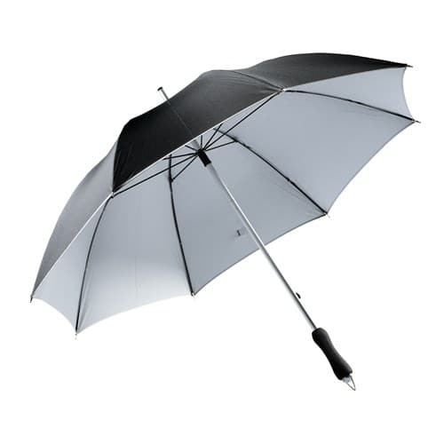 Billig sort paraply 2 farvet paraply - Twice