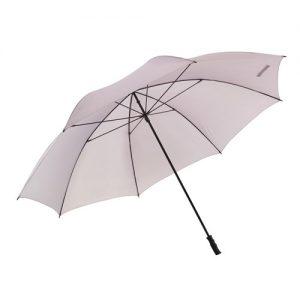 kæmpe paraply grå