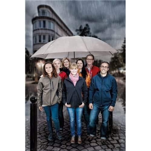 Bryllupsparaplyer 180 cm dækker nemt 5 personer - Gigantium