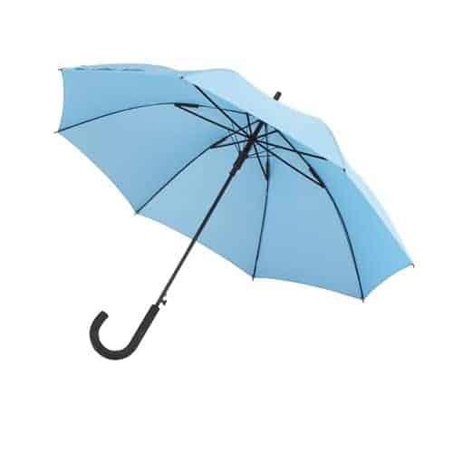 Paraply lyseblå på 103 cm automatisk paraply - Maggie