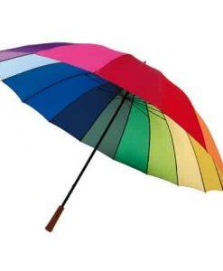 Stor Regnbue paraply