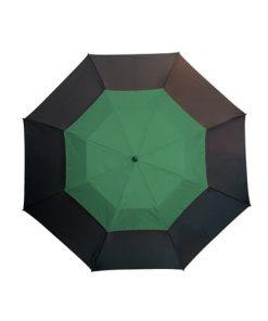 Stor grøn paraply