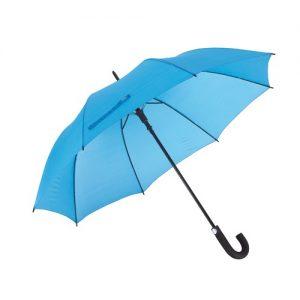 Stor lyseblå paraply