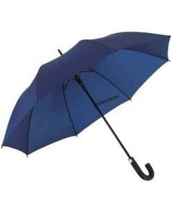 Stor mørkeblå paraply