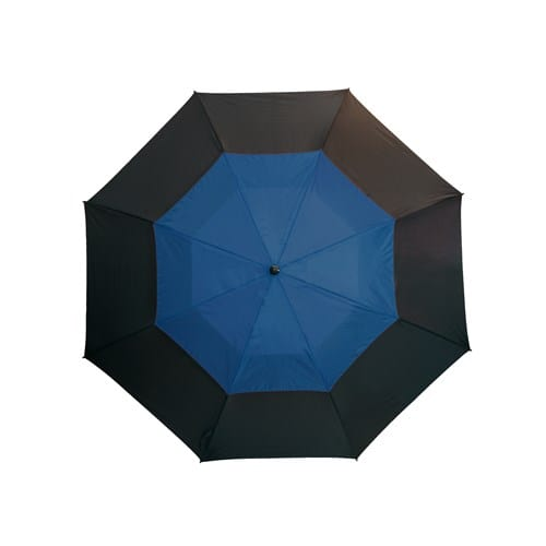 Golfparaply blå dobbelt skærm 132 cm - Herkules