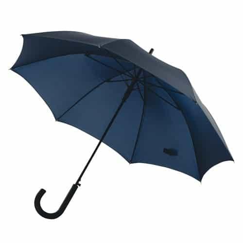 Blå paraply køb stor navy blå diameter 103 cm - Maggie