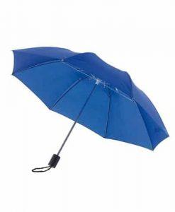 blå taskeparaply