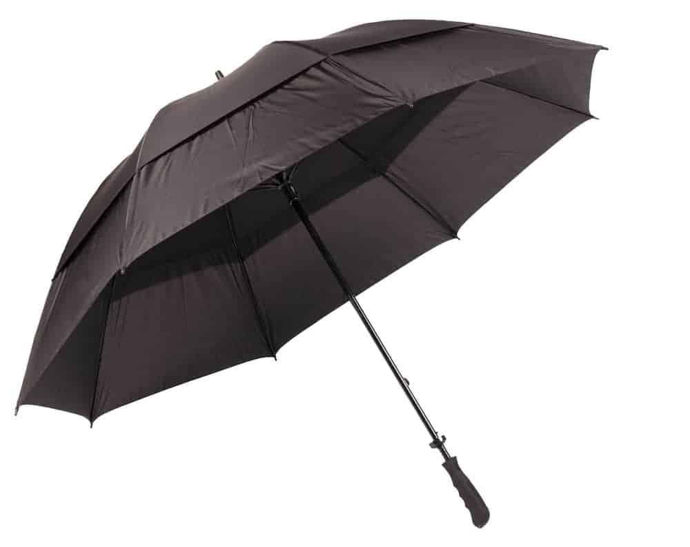 Golfparaply to skærme & lige håndtag 239 Kr - Huge
