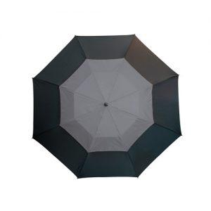 grå golfparaply