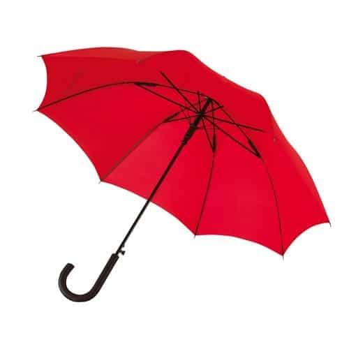 Rød paraply billig her stor diameter 103 cm - Maggie