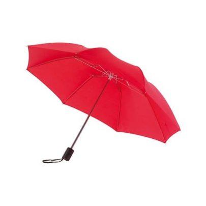 rød taskeparaply