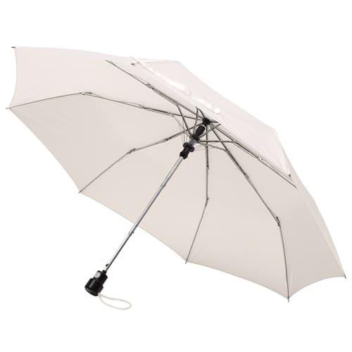 Billig hvid taskeparaply Ø 96 og 348 gram - Sofia