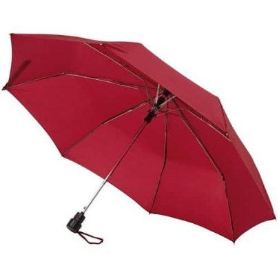 Billig rød taskeparaply