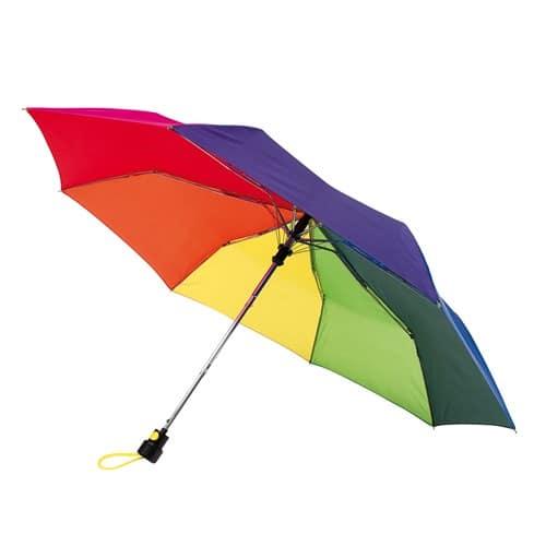 Billig regnbue taskeparaply Køb billigst her - Sofia