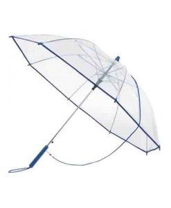 Klar blå paraply