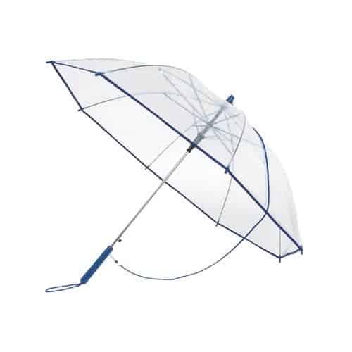 Klar blå paraply - Automatisk paraply - Lucas