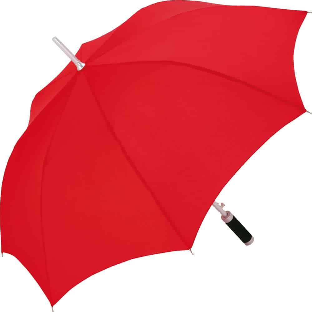 Knald rød paraply med diameter 105 cm - Philadelphia