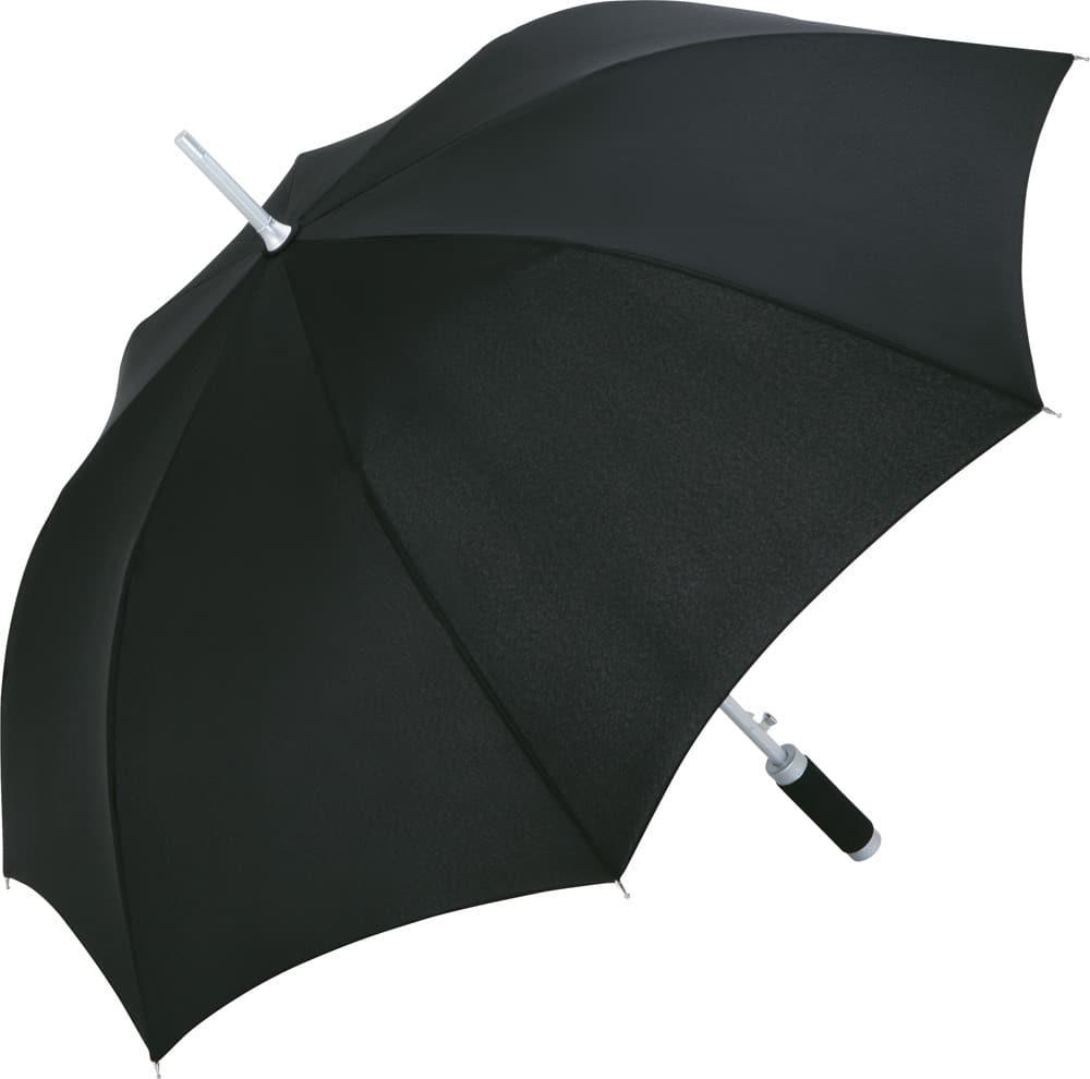 Sort paraply tilbud automatisk diameter 105 cm - Philadelphia