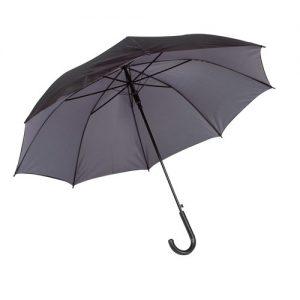 stok paraply grå