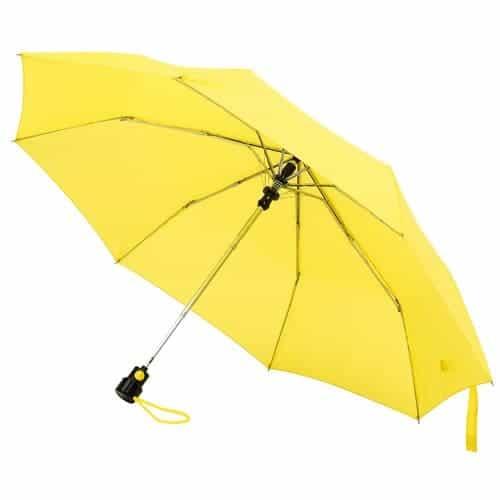 Billig gul taskeparaply levering kun 25 kr - Sofia