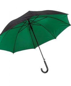grøn stok paraply