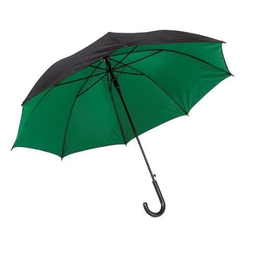 Grøn stok paraply køb paraply i naturens farve - Barcelona
