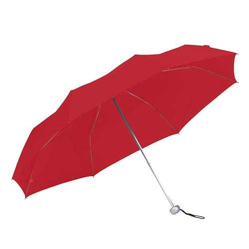 Paraply rød med stor diameter taskeparaply - Jackson