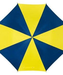 gul & blå paraply