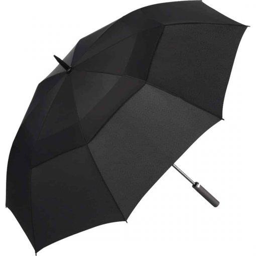 stor sort golfparaply