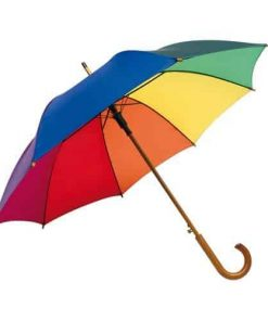 Automatisk regnbue paraply