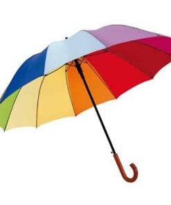 stok paraply regnbueparaply