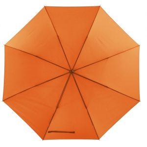 Orange golf paraply
