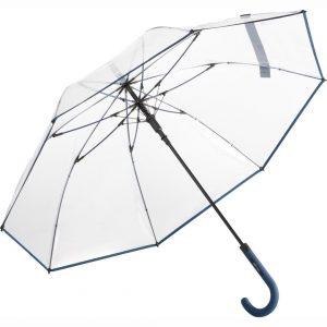 Paraply transparent marine blå