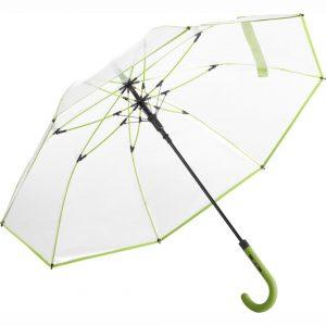 Transparent lime paraply