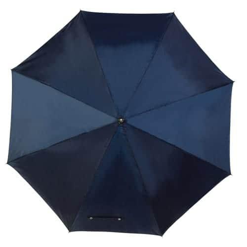 Blå golfparaply stor skærm på 125 cm - Jeannett