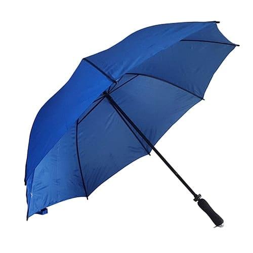 Kongeblå golf paraply med paraplyskærm på 125 cm - Jeannett