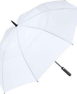 hvid golf paraply