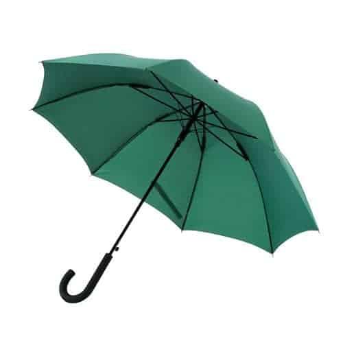 Stor mørke grøn paraply pæn og holdbar paraply - Maggie