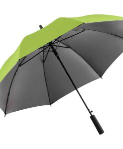 Lime farvet luksus paraply