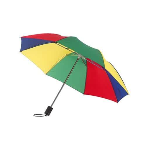 Lille regnbue taskeparaply køb billigst her - Prime
