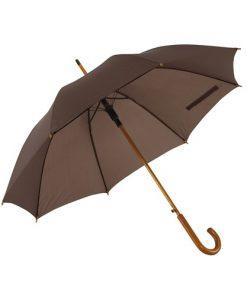 mørke brun paraply