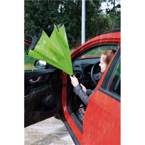 lime grøn omvendt paraply
