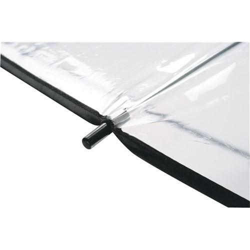 sort gennemsigtig paraply