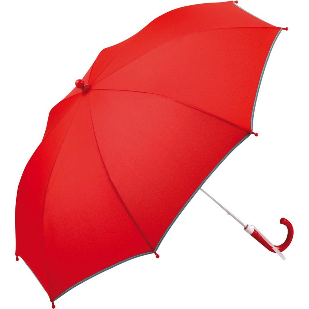 børneparaply rød