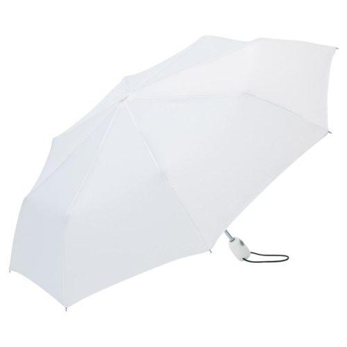 Klassisk hvid taskeparaply
