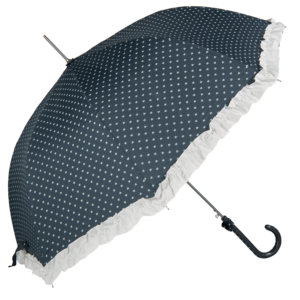 Blå retro paraply