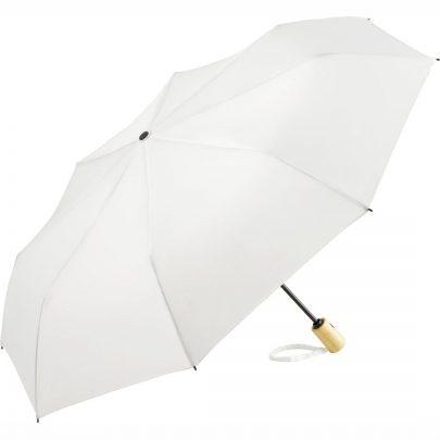 Hvid øko paraply