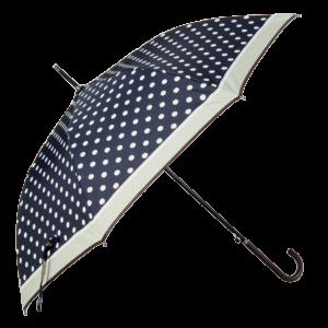 Paraply med prikker