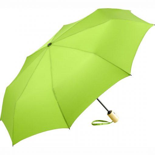 bæredygtig lysegrøn paraply
